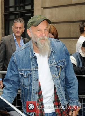 Seasick Steve Records With Jack White's Car Hubcap