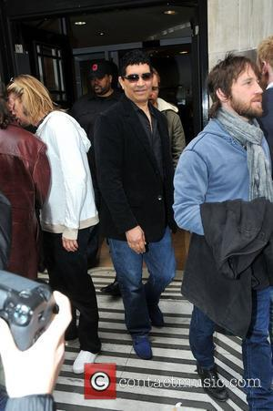 Pat Smear of the Foo Fighters   outside the BBC radio Two  studios  London, England - 25.02.11