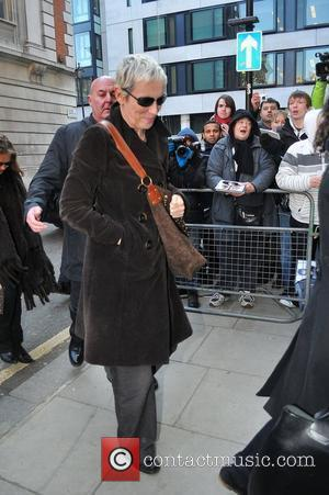 Annie Lennox at the BBC Radio 2 studios London, England - 04.03.11