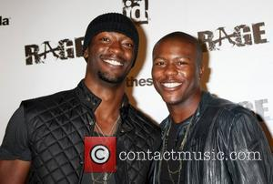 Aldis Hodge and Edwin Hodge Official Launch Party for the most anticipated video game of the year Rage held at...