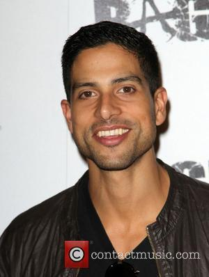 Adam Rodriguez Official launch party for the most anticipated video game of the year 'Rage' at Chinatown's Historical Central Plaza...