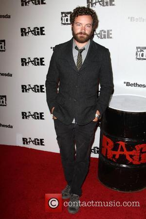 Danny Masterson Official launch party for the most anticipated video game of the year 'Rage' at Chinatown's Historical Central Plaza...