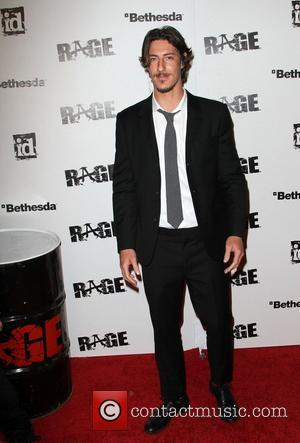 Eric Balfour Official launch party for the most anticipated video game of the year 'Rage' at Chinatown's Historical Central Plaza...