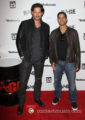 Joe Manganiello and Adam Rodriguez Official launch party for the most anticipated video game of the year 'Rage' at Chinatown's...