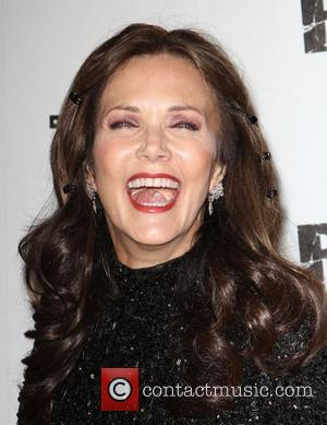Lynda Carter Official launch party for the most anticipated video game of the year 'Rage' at Chinatown's Historical Central Plaza...