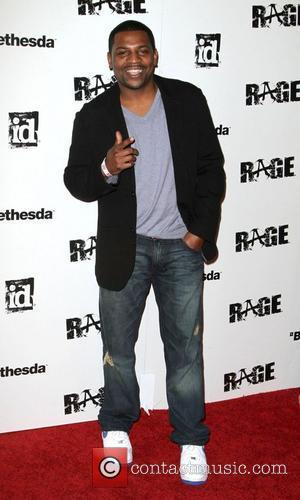 Mekhi Phifer Official launch party for the most anticipated video game of the year 'Rage' at Chinatown's Historical Central Plaza...