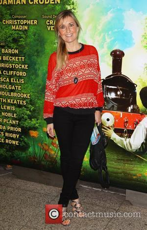 Fiona Phillips arriving at the opening night of 'The Railway Children', The Waterloo Station Theatre  London, England – 28.06.11