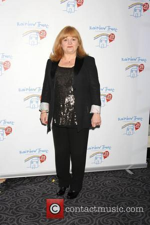 Lesley Nicol,  at the Rainbow Trust: Silver Jubilee Ball at The Savoy Hotel. London, England - 13.10.11