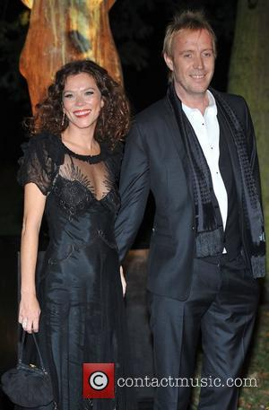 Anna Friel and Rhys Ifans Raisa Gorbachev Foundation - party held at the Hampton Court Palace - Arrivals.  London,...
