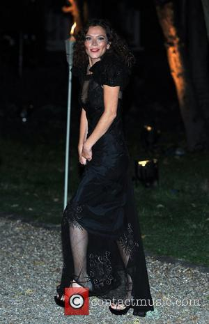 Anna Friel Raisa Gorbachev Foundation - party held at the Hampton Court Palace - Arrivals.  London, England - 22.09.11
