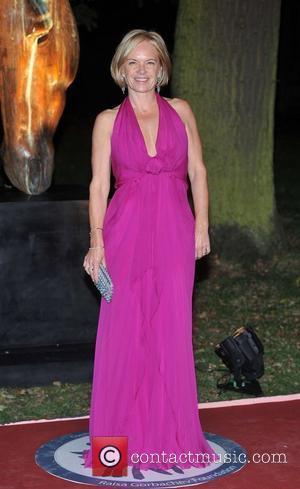 Mariella Frostrup Raisa Gorbachev Foundation - party held at the Hampton Court Palace - Arrivals.  London, England - 22.09.11