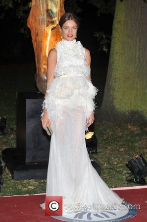 Natalia Vodianova and Hampton Court Palace