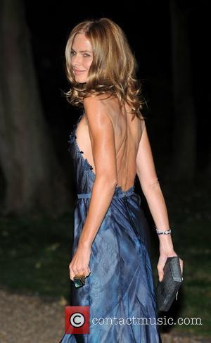 Trinny Woodall Raisa Gorbachev Foundation - party held at the Hampton Court Palace - Arrivals.  London, England - 22.09.11