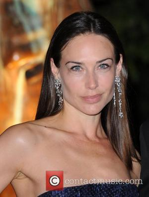 Claire Forlani Raisa Gorbachev Foundation - party held at the Hampton Court Palace - Arrivals.  London, England - 22.09.11