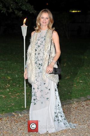 Eva Herzigova Raisa Gorbachev Foundation - party held at the Hampton Court Palace - Arrivals.  London, England - 22.09.11