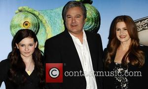 Abigail Breslin, Gore Verbinski and Isla Fisher