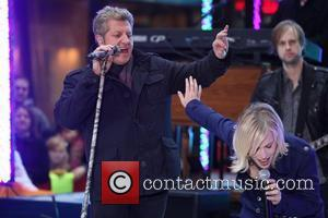 Rascal Flatts and Natasha Bedingfield perform on 'Today' as part of the Toyota Concert Series at Rockefeller Center New York...