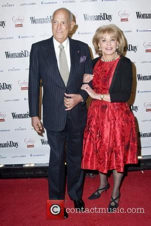 Oscar de la Renta and Barbara Walters  Woman's Day Red Dress Awards & Campbell's AdDress Your Heart at Jazz...