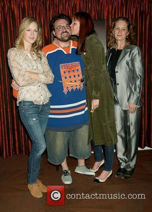 Kevin Smith and Melissa Leo