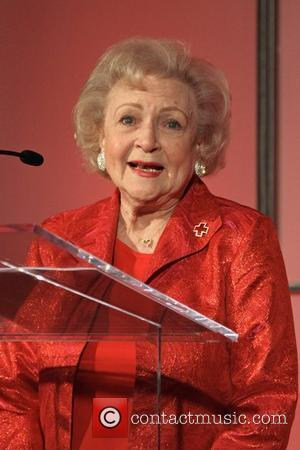 Betty White The American Red Cross Santa Monica Chapter's Annual Red Tie Affair held at the Fairmont Miramar Hotel and...