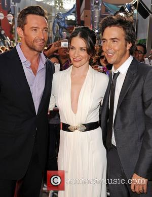 Hugh Jackman and Evangeline Lilly