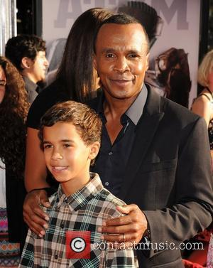 Sugar Ray Leonard Premiere of Real Steel at the Gibson Amphitheater. Universal City, California - 02.10.11