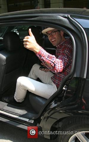 Jason Lee leaving ABC studios after appearing no the 'Live with Regis and Kelly' show  New York City, USA...