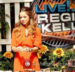 Chef Marcela Valladolid Celebrities at the ABC studios for 'Live With Regis and Kelly' New York City, USA - 04.08.11