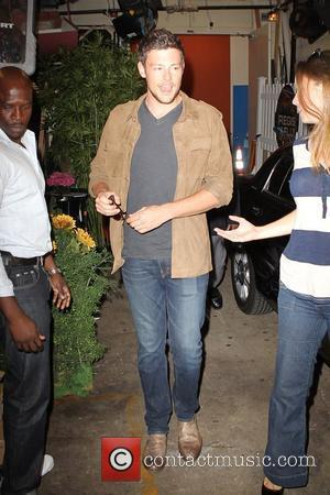 Cory Monteith outside the ABC studios for 'Live With Regis and Kelly' New York City, USA - 02.08.11