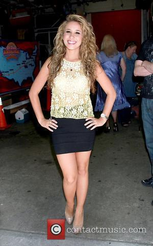 Haley Reinhart, American Idol 3rd runner-up performs on 'Live with Regis and Kelly'. New York City, USA - 02.06.11