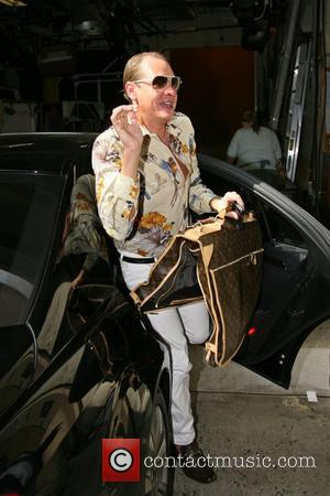 Carson Kressley leaving the ABC studios after appearing on the 'Live with Regis and Kelly' show New York City, USA...