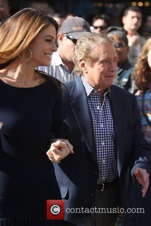 Regis Philbin and Maria Menounos