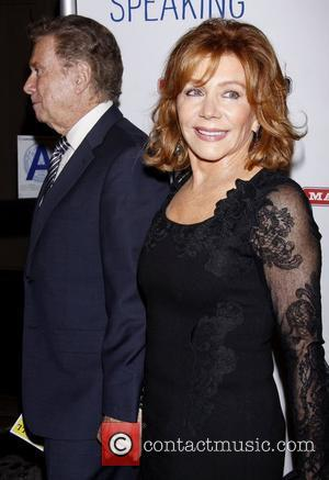 Regis Philbin and Joy Philbin  A variety of stars attended the Opening night of play, originally written by British...