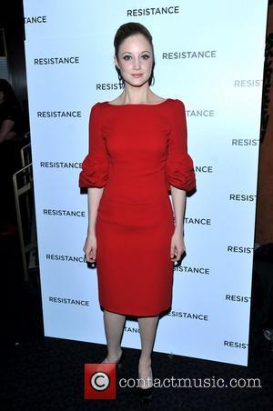 Andrea Riseborough Resistance - UK film premiere held at the Curzon Mayfair - Arrivals. London, England - 20.11.11