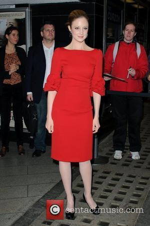 Andrea Riseborough Resistance - UK film premiere held at the Curzon Mayfair - Arrivals. London, England - 20.11.11