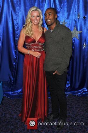 Michelle Mone and Simon Webbe