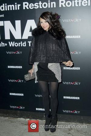 Stacey Bendet  Retna 'The Halleluiah World Tour' art exhibition - Arrivals New York City, USA - 10.02.11