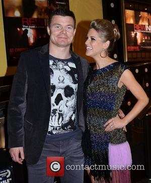 Brian O'Driscoll and Amy Huberman film premiere of 'Rewind' held at Dundrum Town Centre - Arrivals Dublin, Ireland - 22.03.11