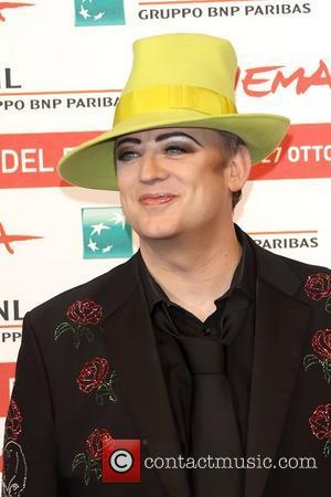 Boy George Fuming Over Hat Prank
