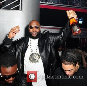 Rick Ross  Rick Ross and Stevie J's birthday party at Club Play Miami Beach, Florida - 28.01.11