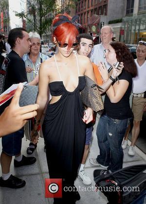 Rihanna leaving her hotel New York City, USA - 21.07.11