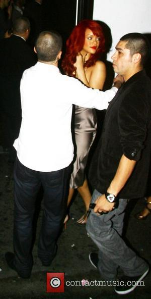 Rihanna leaving a BET awards afterparty in Hollywood Los Angeles, California - 26.06.11