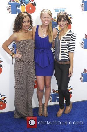 Savannah Jayde, Kelli Goss, Denyse Tontz,  Los Angeles premiere of 'Rio' held at The Grauman Chinese Theatre - Arrivals...