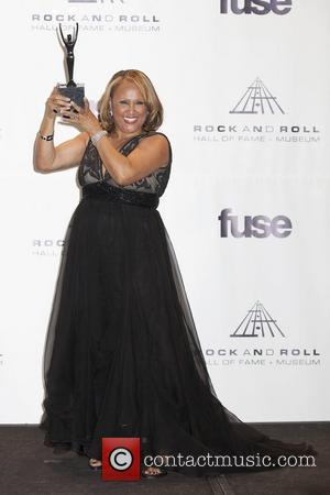 Darlene Love, Bette Midler 26th Annual Rock And Roll Hall Of Fame Induction Ceremony at the Waldorf Astoria Hotel -...