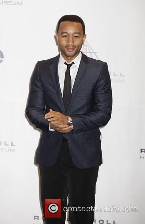 John Legend 26th Annual Rock And Roll Hall Of Fame Induction Ceremony at the Waldorf Astoria Hotel - Press Room...