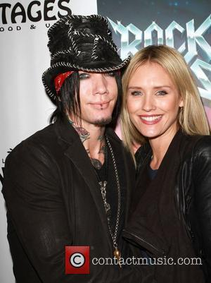 DJ Ashba of Guns N' Roses Broadway sensation 'Rock Of Ages' celebrates its Los Angeles homecoming at The Pantages Theatre...