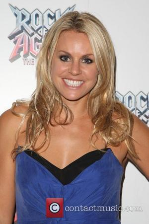 Chemmy Alcott Rock of Ages the musical gala - Inside Arrivals London, England - 28.09.11