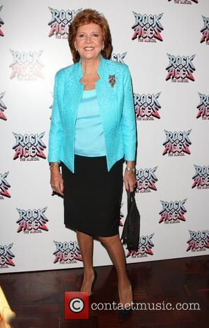 Cilla Black Rock of Ages the musical gala - Inside arrivals London, England - 28.0.11