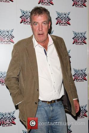 Jeremy Clarkson Rock of Ages the musical gala - Inside arrivals London, England - 28.0.11