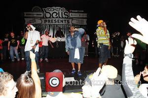 Raekwon, Dwayne Johnson, Ghostface Killah, Wu Tang Clan and Rock The Bells Concert